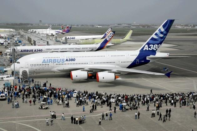 Adeus, Airbus a380