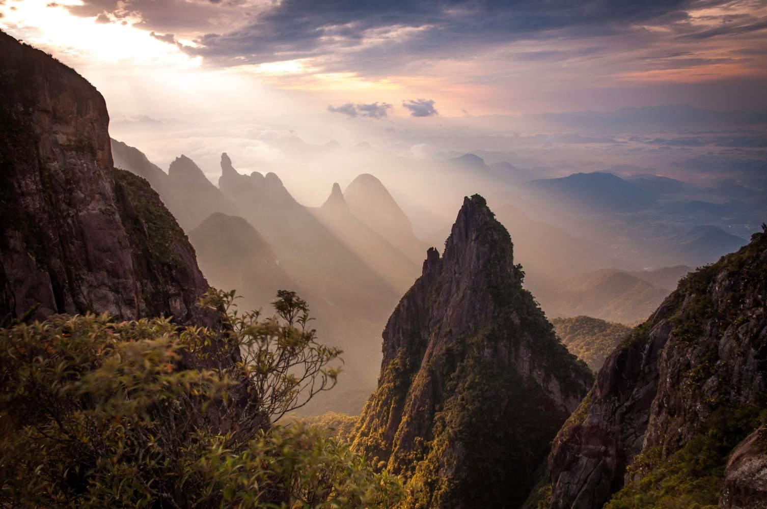 Tem montanha no Brasil?