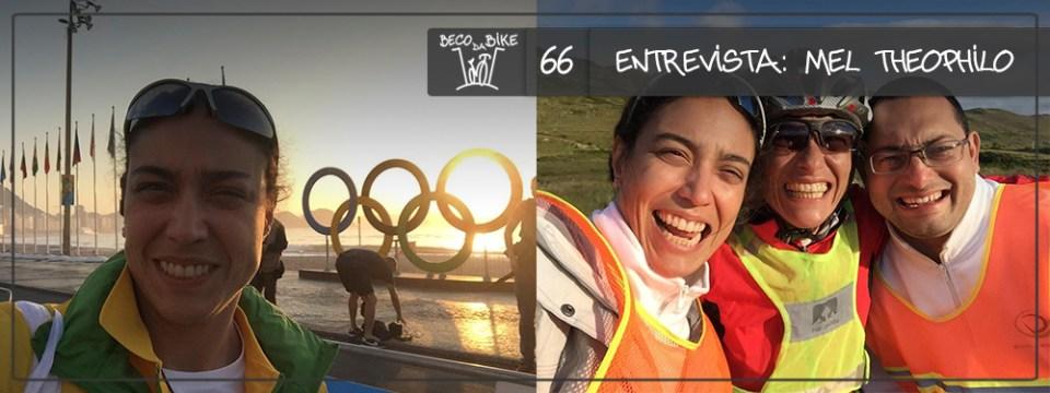 Beco da Bike #66: Entrevista – Mel Theophilo