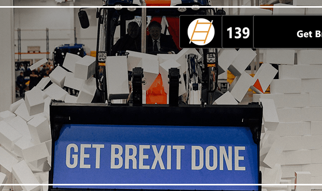 Chute 139 – Get Brexit Done