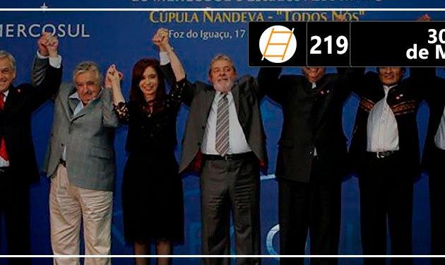 Chute 219 – 30 anos de Mercosul