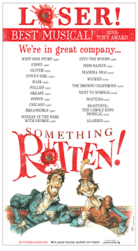 "How Broadway Musical ""Something Rotten!"" Owned Its Loss At The Tonys"