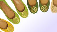 Tory Burch needs extra girls To stroll In Her (traditional Ballet Flat, Gold emblem) Footsteps