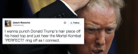 React: extra Tweeters wish to battle Donald Trump Than Vote For Him