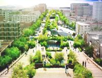In Mexico metropolis, a 10-Lane freeway is turning right into a Park