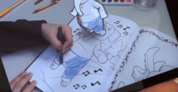 Disney's crazy New Tech Brings Coloring Books To lifestyles