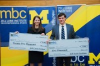 scholar-Led Startups Take center Stage at U-M industry competitors
