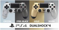 Sony To Launch New Crystal And Steel Black DualShock 4 Controllers In July