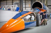 Bloodhound's land speed record attempt set for October 2017