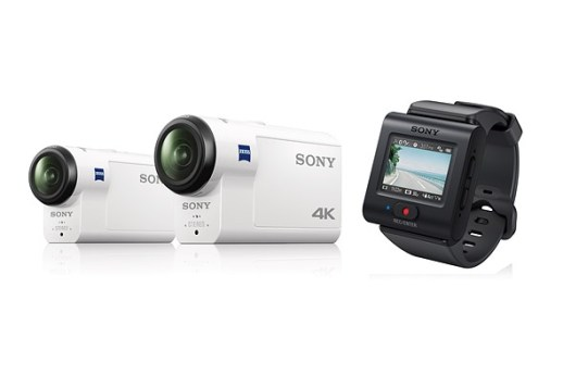Sony FDR-X3000 and FDR-AS300 Action Cameras With OIS Launched