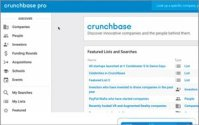 Crunchbase Extends Its Database With Dynamic Searches, Email Alerts