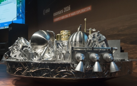 The ESA's ExoMars mission looks like a success so far