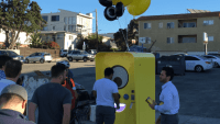 What the line for Snap Inc.'s Spectacles was like on release day
