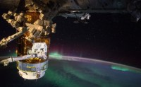 Japanese cargo ship set to dock with the ISS
