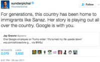 Google Recalls Employees: Microsoft, Facebook Warn U.S. Policies Could Impact Ad Tech