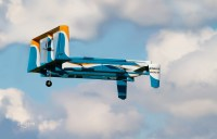 Amazon's delivery drones could drop packages with parachutes
