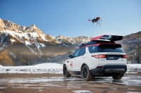 Land Rover's Project Hero SUV launches a drone to aid rescue workers