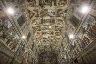 The Sistine Chapel's masterpiece frescoes have been digitized