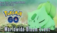 Pokemon Go Worldwide Bloom Event Start – End Times, Grass Type Pokemon List And Everything Else