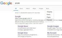If Google's Personal Filter Tab In Search Results Becomes Another Targeting Tool