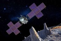 NASA probe on a fast track to reach metallic asteroid