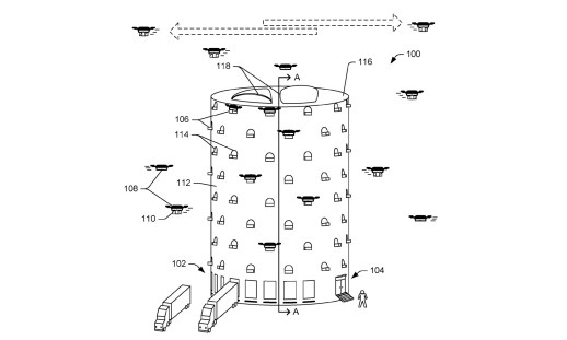 Amazon dreams of putting a giant drone beehive in your city