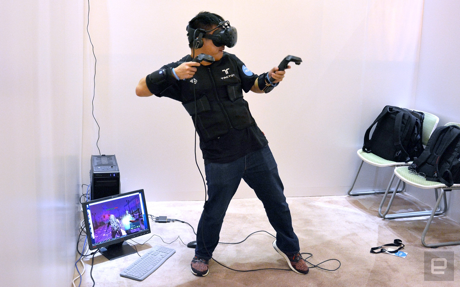 bHaptics' TactSuit is VR haptic feedback done right   DeviceDaily.com