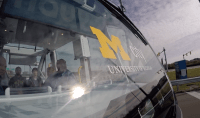 University of Michigan launches its own self-driving shuttle service