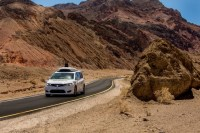 Waymo tests self-driving minivans in Death Valley