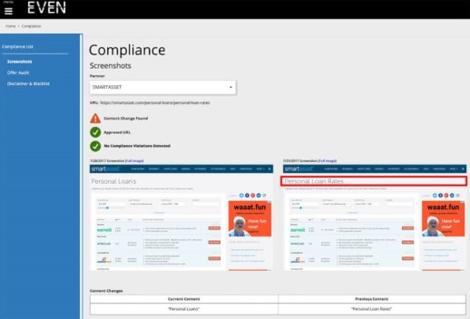 Even Financial launches tool to semi-automate financial compliance for online ads | DeviceDaily.com
