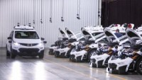 "GM boasts ""the world's first mass-producible driverless car"""