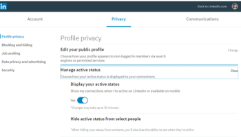 How to Turn off LinkedIn Notifications of Birthdays and Work