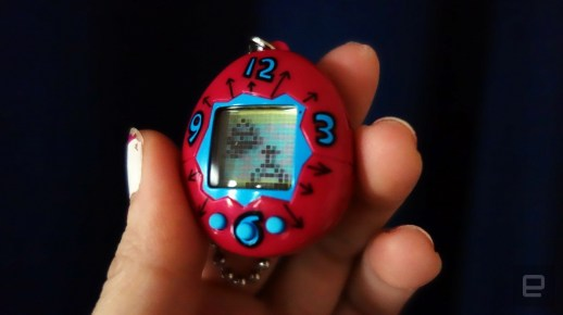 The 20th anniversary Tamagotchi is smaller but still easy to kill | DeviceDaily.com