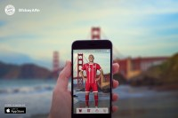 German soccer team puts players on your iPhone for AR selfies