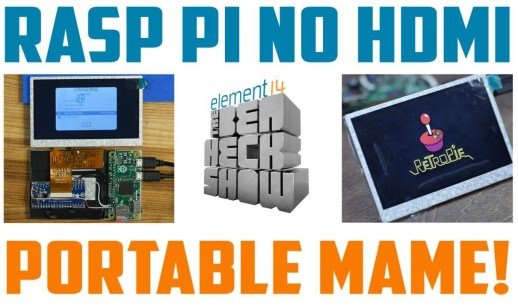 Ben Heck's Raspberry Pi-based portable MAME arcade   DeviceDaily.com