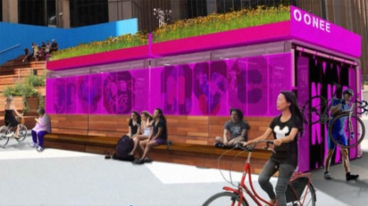 These Colorful Kiosks Could Be The Future Of Urban Bike Storage