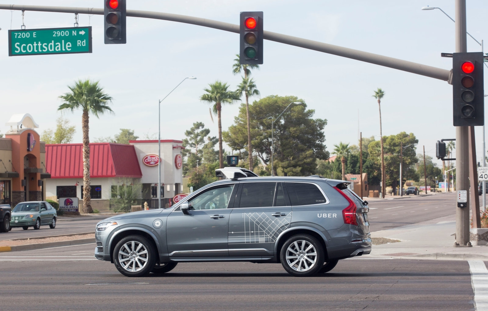 Uber settles with family of pedestrian hit by its self-driving SUV