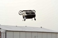 Watch a medevac drone perform a simulated rescue
