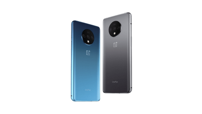 Two OnePlus 8 Phone Blue and Black