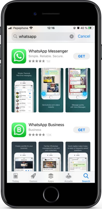 Adds new features to whatsapp.features:hide your online and last seen status from. How To Install Whatsapp In An Apple Iphone 11 Pro Max