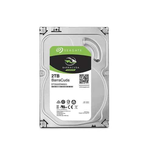 "Seagate 2TB Barracuda 3.5"" Desktop Hard Drive"