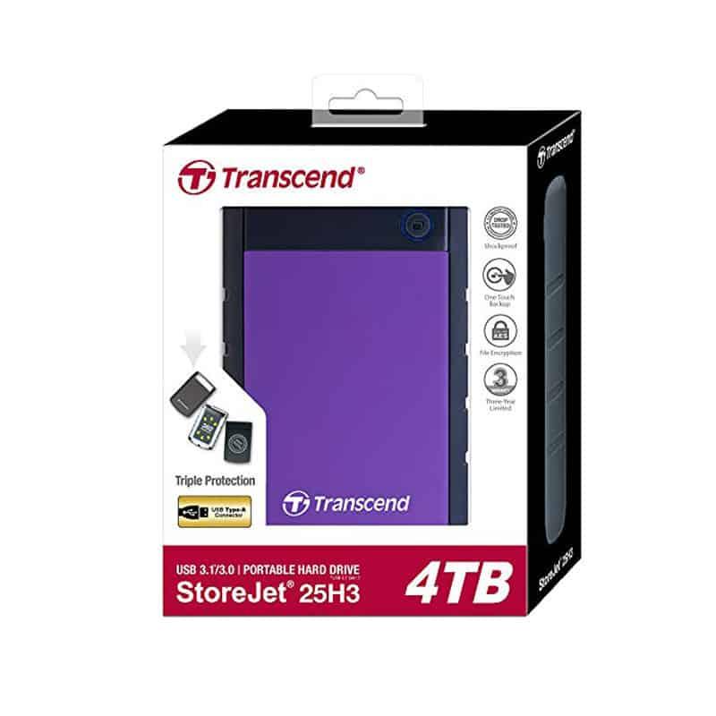 Transcend 4TB External Hard Disk
