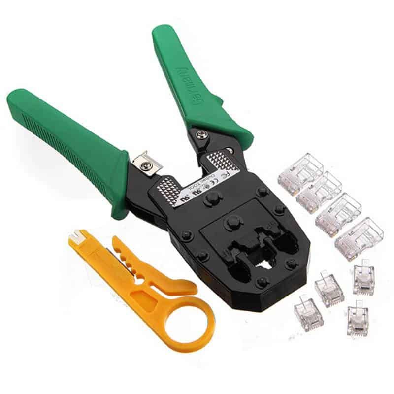 Crimping Tool with Wire Stripper