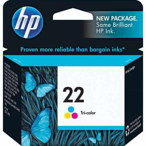 HP 22 Tri-Color Print Cartridge
