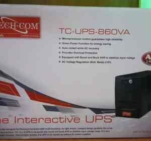 Techcom 860VA Line Interactive UPS