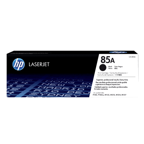 HP 85A Black Original LaserJet Toner Cartridge