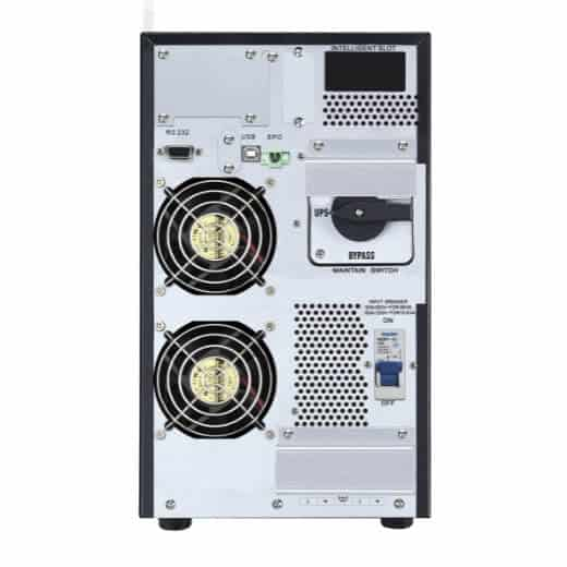 APC Easy UPS On-Line SRV Ext. Runtime 6000VA 230V with External Battery Pack_connectors
