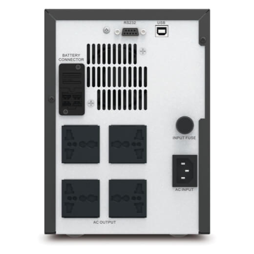 APC Easy UPS SMV 750VA, Universal Outlet, 230V_Connectors