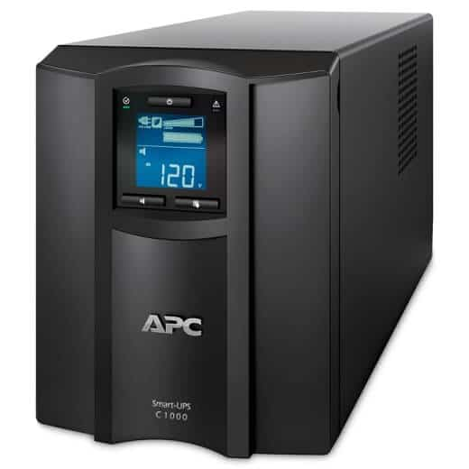 PC Smart-UPS C 1000VA LCD 230V with SmartConnect_SideA