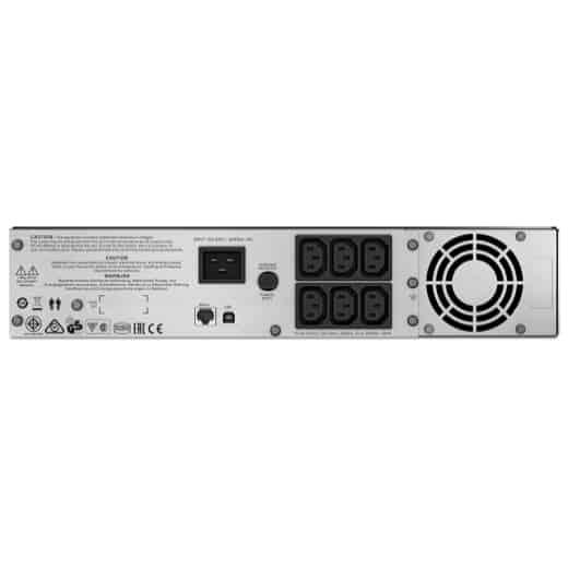 APC Smart-UPS C 2000VA LCD RM 2U_Connectors